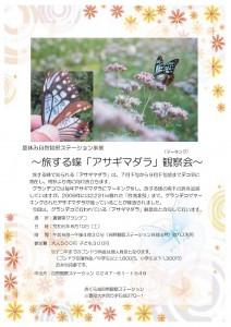 1アサギマダラ観察会 - コピー